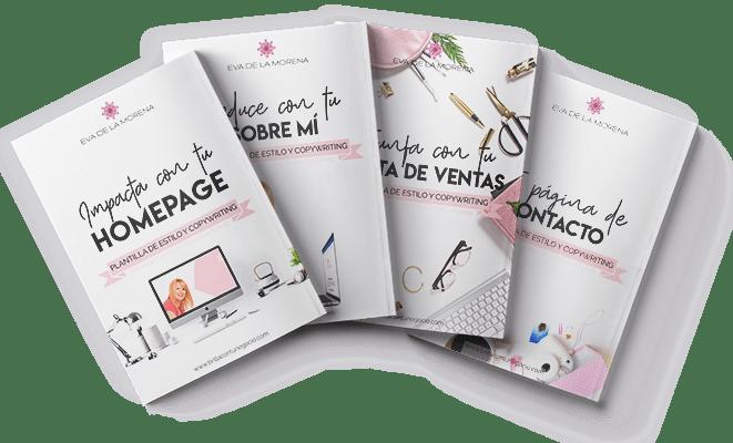 Guías y plantillas de diseño y copywriting para diseñar tu web