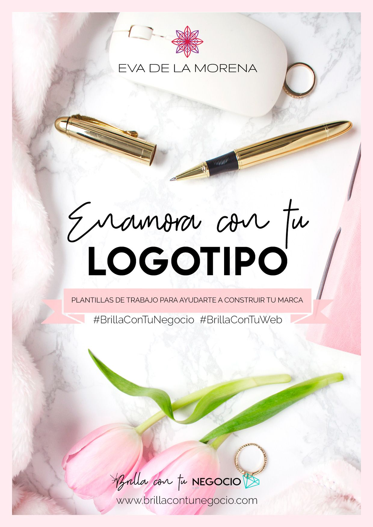 Enamora con tu logotipo: un ebook para encontrar la inspiración que necesitas para crear un logo que ayude a posicionar tu marca en el mercado.