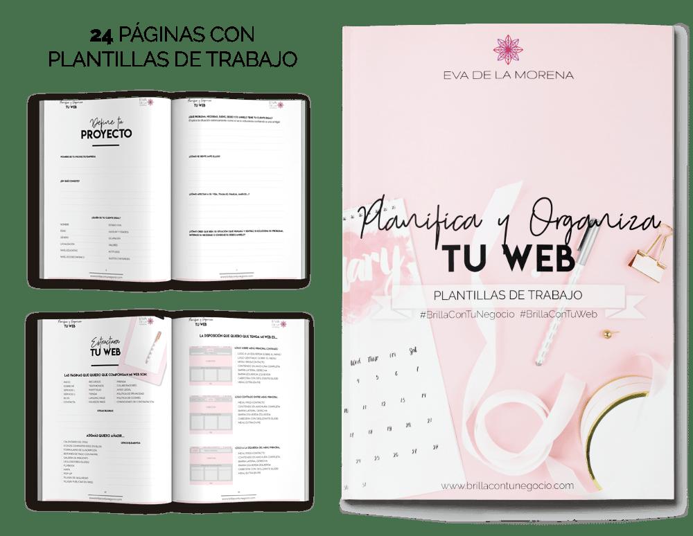 Ebook Planifica y Organiza tu Web - Brilla con tu Negocio - brillacontunegocio.com