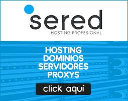 SERED Mejor hosting profesional y dominios