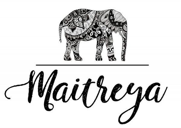 Logotipo Maitreya, Diseño de logotipo, diseño de marca, Brillacontunegocio.com
