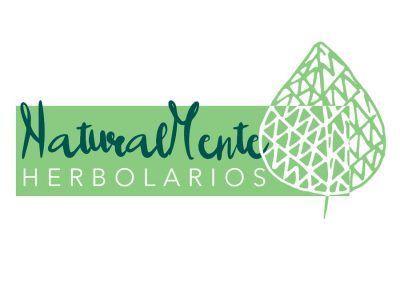 LOGO-NaturalMente-Herbolarios-Diseño-de-logotipo-BrillaConTuNegocio