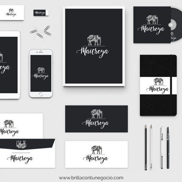 Diseño de marca - Brilla con tu negocio - Logotipos
