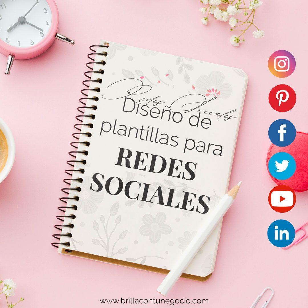 Diseño de plantillas para imágenes en redes sociales - Brilla Con tu Negocio
