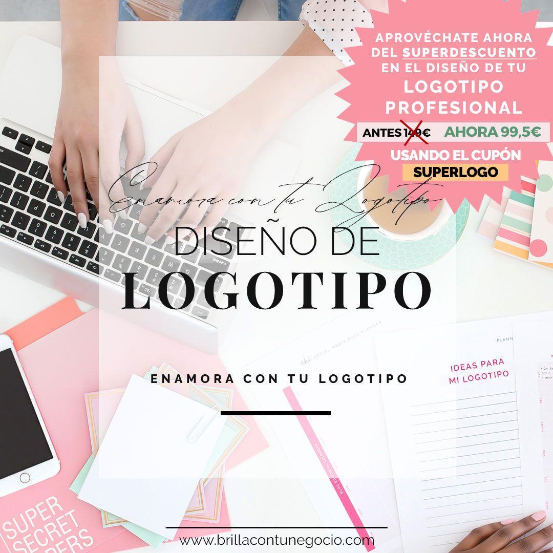 Promoción diseño de logotipo - 33% -SUPERLOGO - Enamora con tu logotipo - #EnamoraConTuLogotipo - Diseño de marca, diseño de logotipo, diseño de identidad corporativa para mujeres emprendedoras, coaches, terapeutas, consultoras, artesanas, artistas