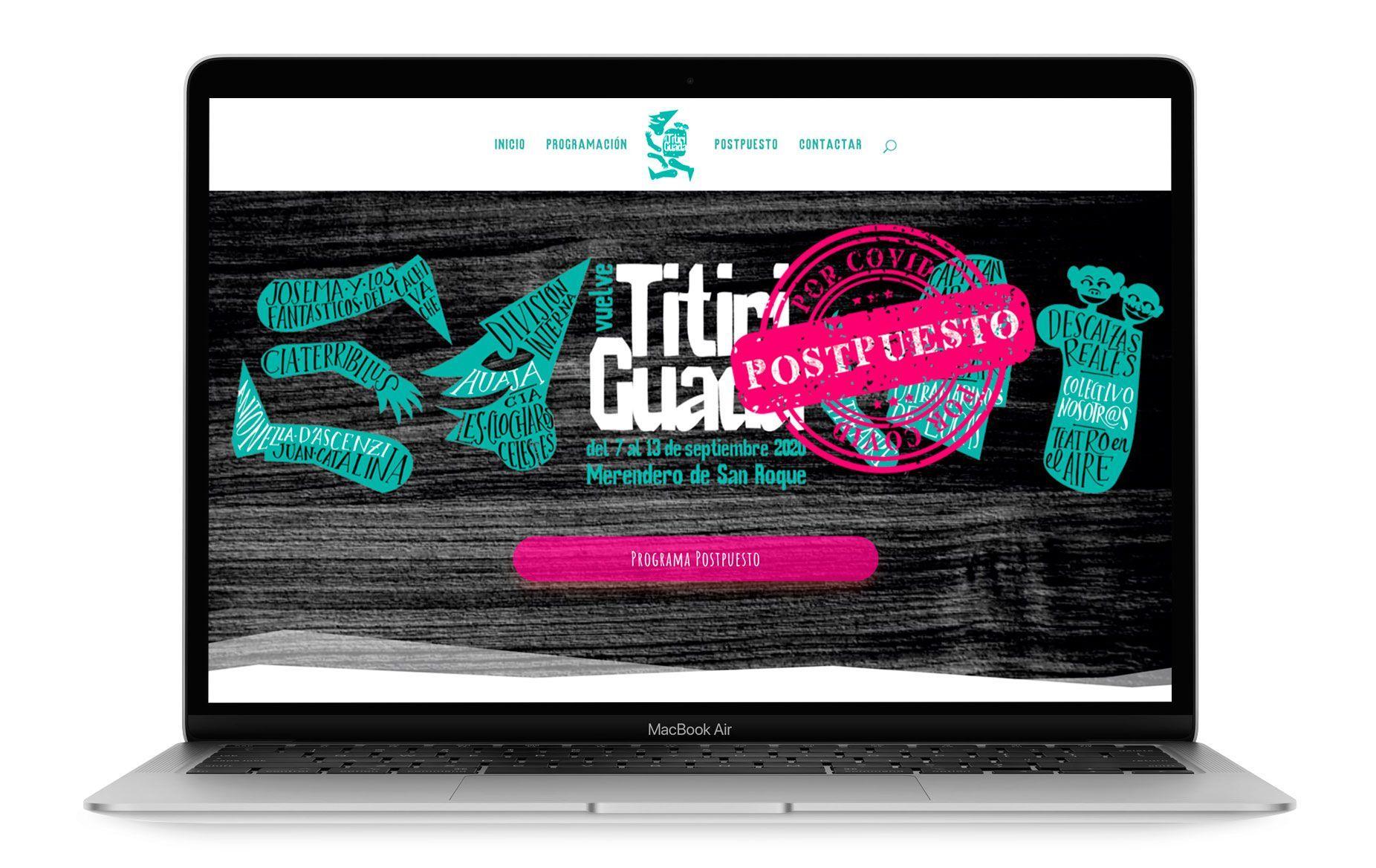 Diseño web de Titiriguada